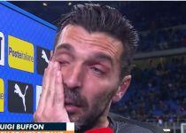 אבל באיטליה: צפו בשוער הנבחרת ממרר בבכי