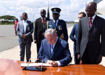 נתניהו נחת בקניה: בדרך למרתון פגישות אפריקני