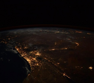 ארץ ישראל יפה, טיולים מרהיב: האסטרונאוט שתיעד את ירושלים מהחלל