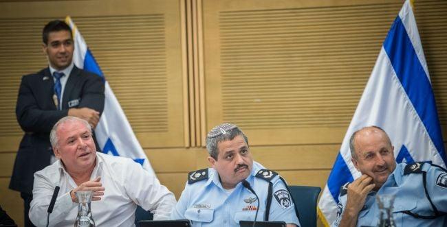 """ברקע המלצות המשטרה: המפכ""""ל יגיע לדיון בכנסת"""