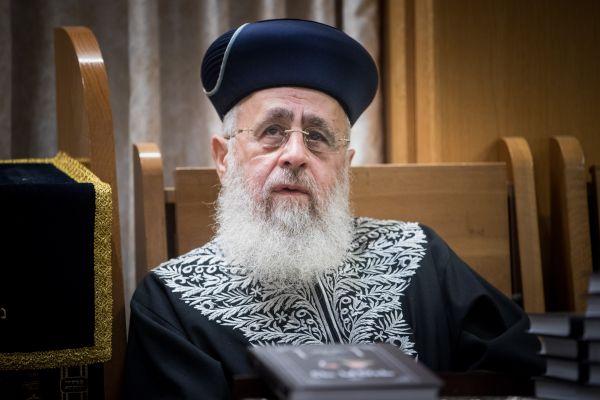 הרב יצחק יוסף שוב מתערב בהליך בחירת רב עיר?