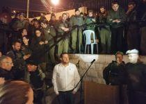 צפו: מסדר צבאי בקבר יוסף בשכם