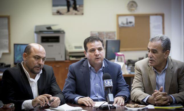"""החכי""""ם הערבים הודיעו: מחרימים את סגן הנשיא"""