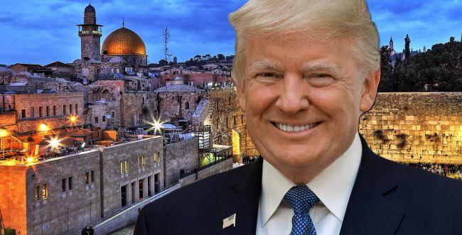 הנשיא טראמפ הצהיר: ירושלים בירת ישראל