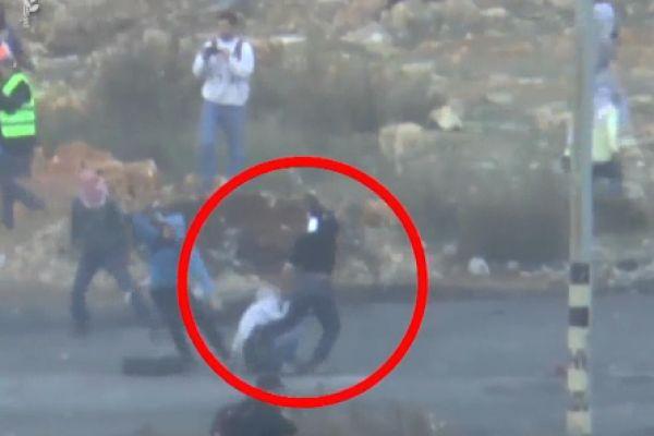 צפו: מסתערבים מבצעים מעצר במהלך התפרעות