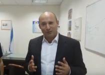 צפו: נפתלי בנט מברך לקראת שבת ארגון