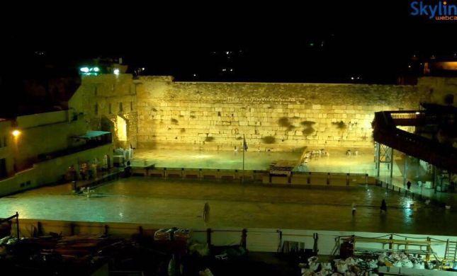 לאות מחאה: הערבים כיבו את האורות במקום הקדוש