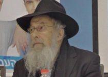 בניגוד לדעתו:הרב טאו קורא להתפלל על הרב וישליצקי