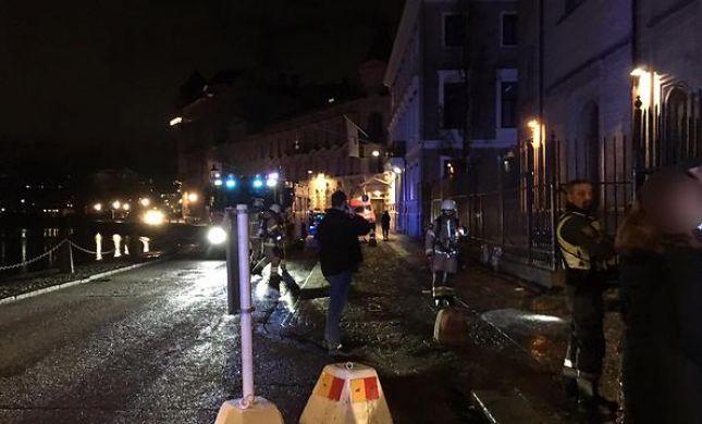 """מתקפת בקת""""בים על בית הכנסת: 'ראיתי כדור של אש'"""