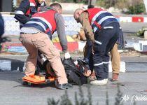 מזהים חגורת נפץ ויורים במחבל: צפו בתיעוד הפיגוע
