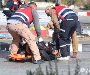 """חדשות, חדשות בארץ, מבזקים פיגוע דקירה ליד בית אל: לוחם מג""""ב נפצע בינוני"""