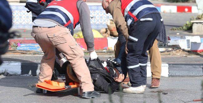 """פיגוע דקירה ליד בית אל: לוחם מג""""ב נפצע בינוני"""