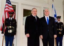 "צפו: סגן נשיא ארה""ב מייק פנס נחת בישראל"