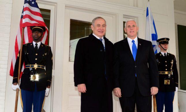 """סגן נשיא ארה""""ב שוחח עם רה""""מ: """"עומדים לצד ישראל"""""""