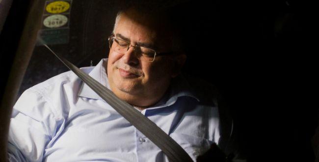 שמר על זכות השתיקה:'ביטן יצא מהחקירה לבן כמו סיד'