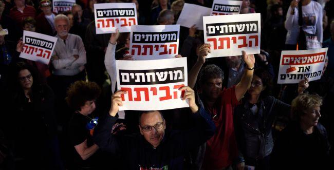 """הרב ערוסי: """"ההפגנות נגד השחיתות בעצמן מושחתות"""""""