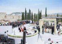 מטורף: כך נראית החתונה היהודית הגדולה בעולם