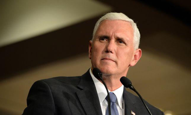"""ברגע האחרון: שוב נדחה ביקורו של סגן נשיא ארה""""ב"""
