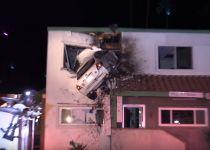התאונה ששיגעה את הרשת: רכב עף לתוך מרפאה