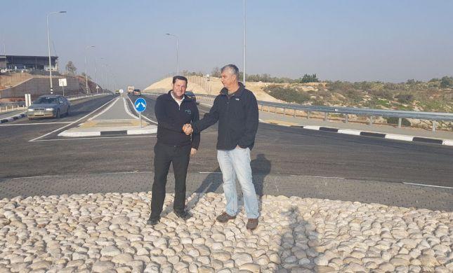 """המאבק השתלם: 800 מיליון ש""""ח לכבישים עוקפים ביו""""ש"""