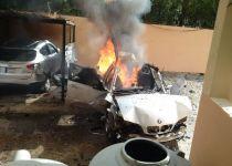 דיווח בלבנון: פעיל חמאס נפצע בפיצוץ מכוניתו
