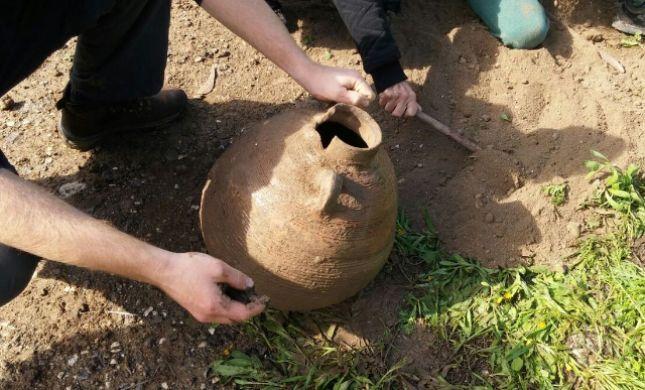 בזכות הגשם: נחשפה תגלית ארכיאולוגית  בת 1500 שנה