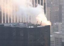 שריפה פרצה במגדל טראמפ בניו יורק. צפו