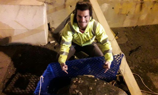 באמצע הלילה: עובדי נמל אשדוד מצילים חיים