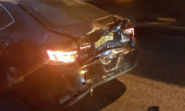 """ח""""כ מרגי היה מעורב בתאונה ונפגע באורח קל"""