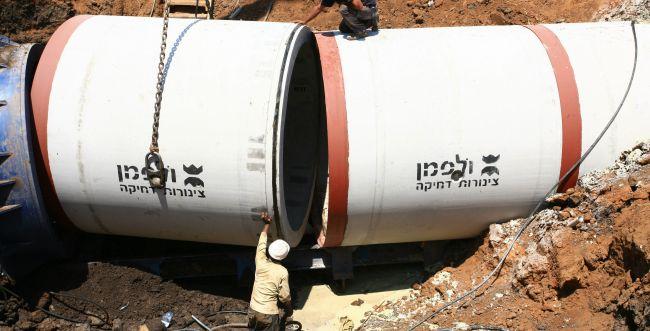 אושר פתרון לבעיית הפסקות המים ביישובי השומרון