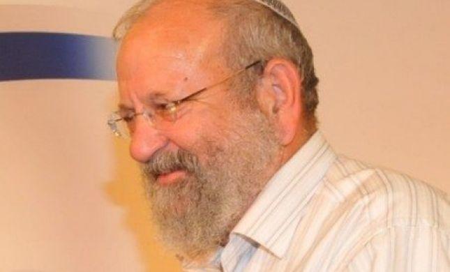 ממיטת חוליו: הרב וישליצקי ביקש להקליט שיחה. האזינו