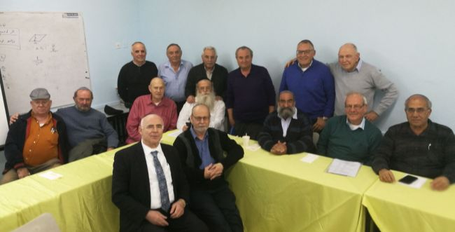 מרגש: בוגרי אור עציון נפגשים לאחר 53 שנה
