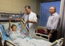 הדסה:צנתור מוח מוצלח הציל אישה בת 90