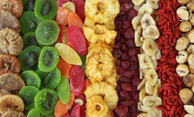 נהניתם מפירות יבשים? זו כמות הקלוריות שהעליתם
