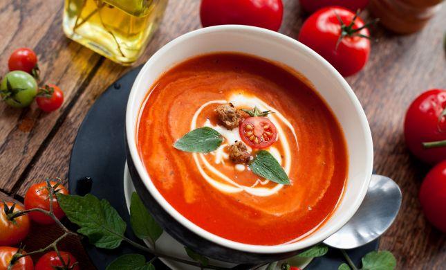 להרגיש את החורף: מתכון למרק עגבניות מנצח