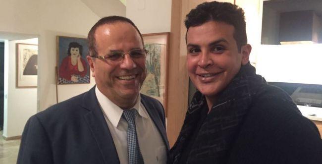 מבוכה ישראלית: האם איוב קרא נפגש עם נסיך בחריין?