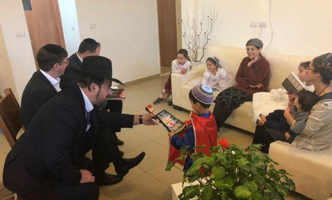 """משלחת זק""""א בחיזוק למשפחת הרב איתמר בן גל הי""""ד"""