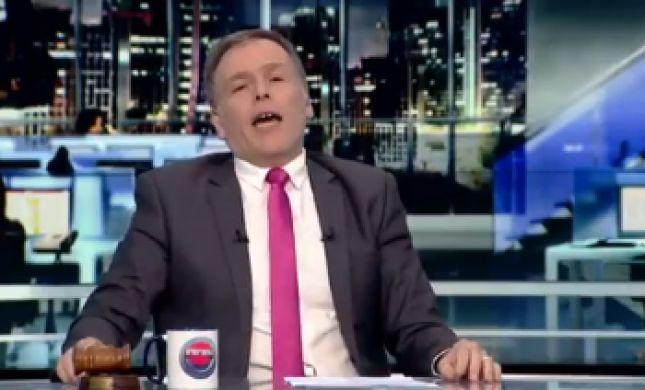 """צפו: אראל סג""""ל מתפטר בשידור חי מ'וואלה'"""