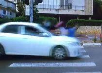 תיעוד: בנות אולפנה צילמו סרטון לפורים ונפגעו מרכב
