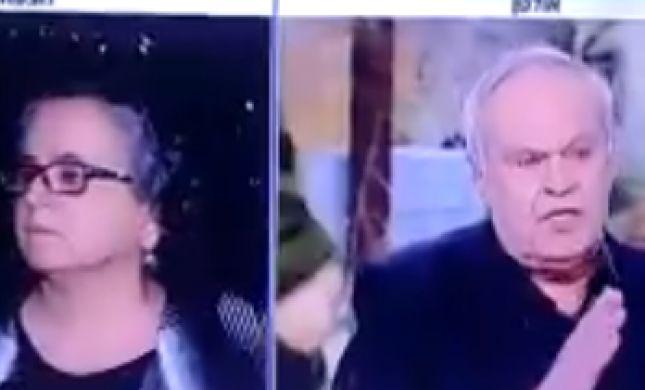 """רוני דניאל לחברת הכנסת: """"שבי בשקט""""; צפו"""