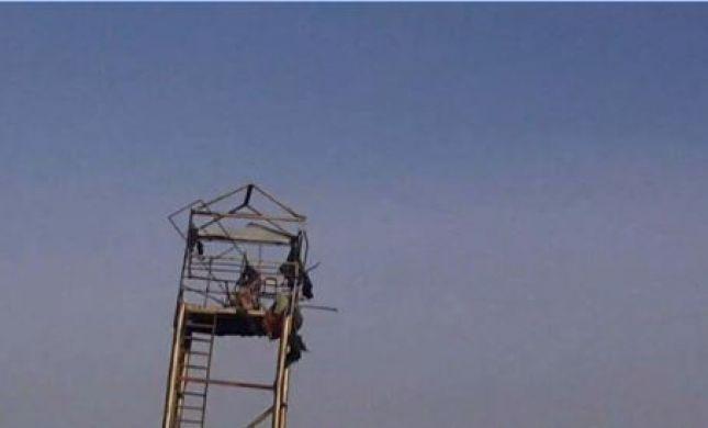 """צה""""ל נטרל מטען חבלה שהוסתר בדגל פלסטין"""