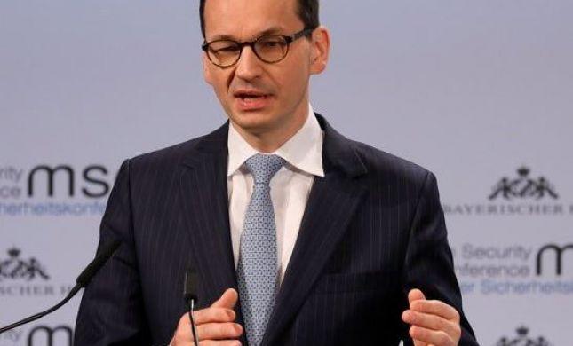 """ממשלת פולין: """"ראש הממשלה לא הכחיש שואה"""""""