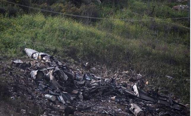 מטוס קרב ישראלי הופל בצפון; הטייסים נטשו