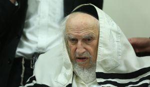 חדשות חרדים מנהיג 'הפלג הירושלמי' הרב שמואל אויערבך נפטר