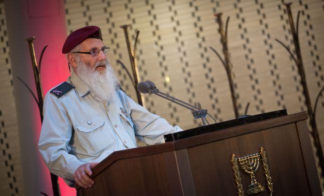 """הרבצ""""ר בטור מיוחד: המשימה הקשה של הרבנות הצבאית"""