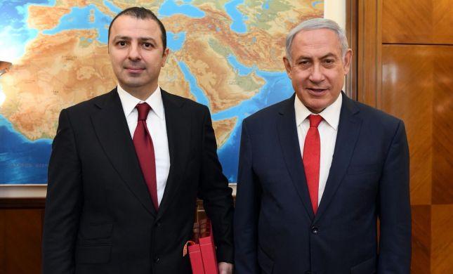 נתניהו נפגש עם ראש הקונגרס הבינלאומי של היהודים ההרריים