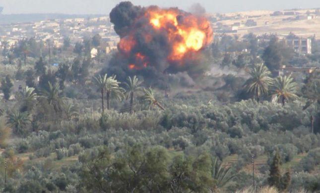 """נלחמים יחד: """"ישראל תוקפת את ארגון דאעש במצרים"""""""