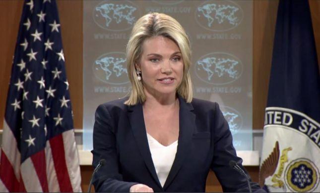 """ארה""""ב מחזקת: """"זכותה של ישראל להגן על עצמה"""""""