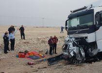 תאונת דרכים קטלנית: הרכב נמרח לתוך המשאית