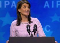 """שגרירת ארה""""ב באו""""ם: """"אבו מאזן חייב להסכים למו""""מ"""""""
